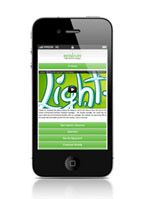 Lighten up! - Mobile campaign site