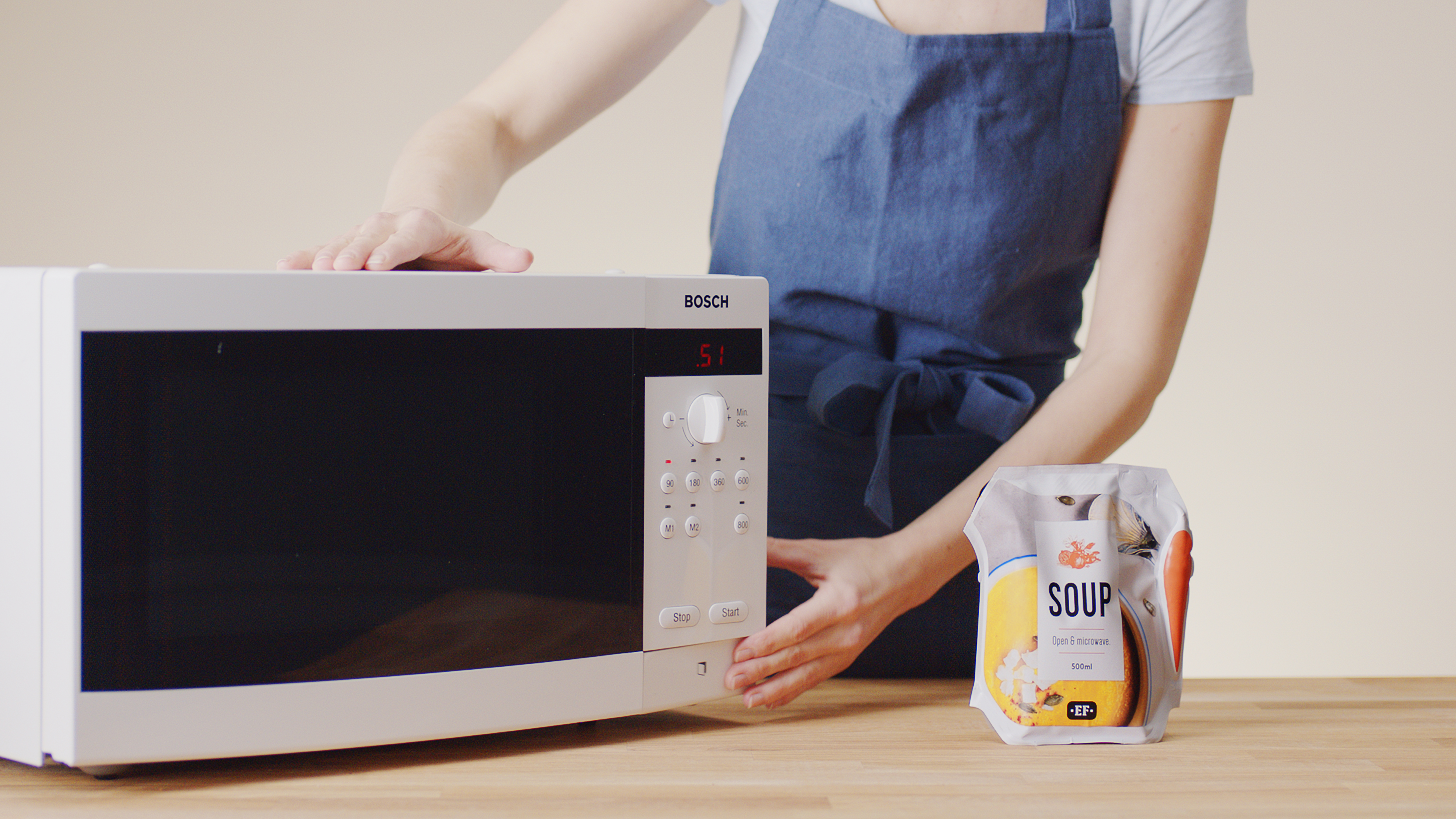 Ecolean's benefits - microwaveable