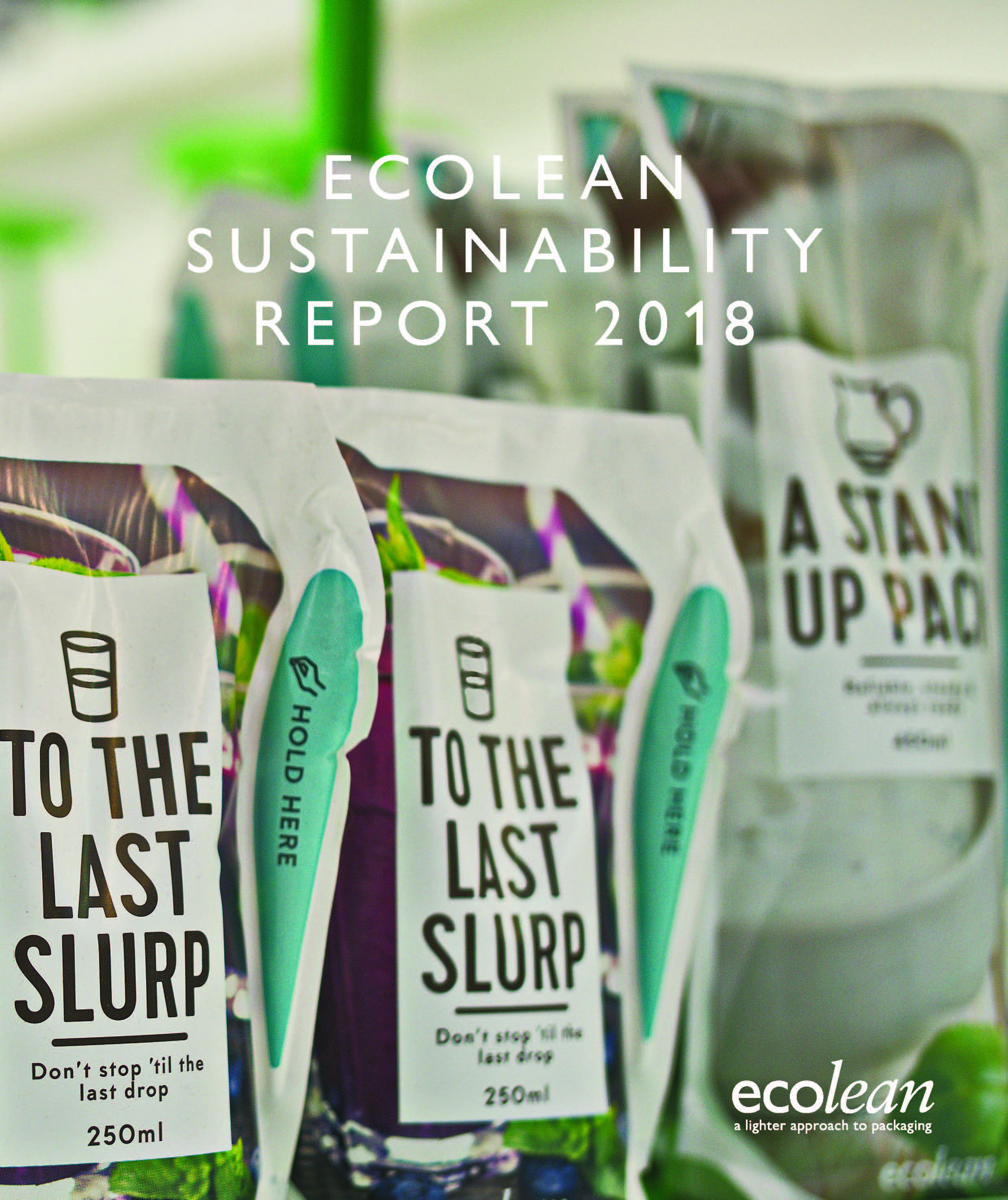 Ecolean takes leadership in sustainable packaging