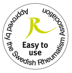 The Swedish Rheumatism Association approves all Ecolean packages